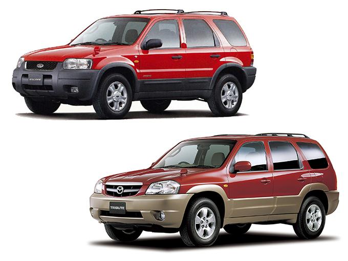 総額50万円以下から狙える! 見た目は似てても走りは別物の姉妹車、フォード エスケープ&マツダ トリビュート。あなたはどっち派?