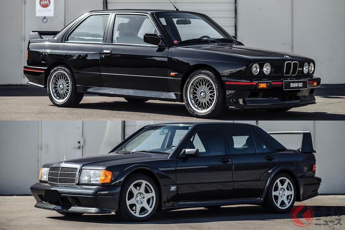 2000万円に達するか!? 人気の「190エボ2」と「M3スポエボ」はどちらが高額取引される?