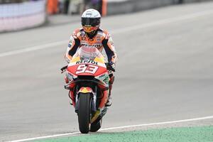 【MotoGP】復活優勝マルケス「これまでの記憶がよぎって集中するのが大変だった」パルクフェルメでは涙も ドイツGP
