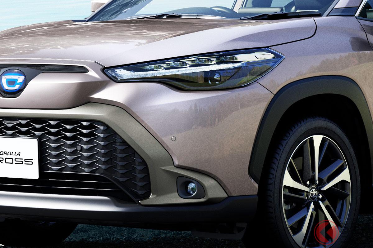 カローラがSUV化!? トヨタ新型「カローラクロス」国内仕様発売! タイ仕様公開から1年 外観どう変化?