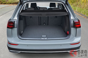 人気のクロスオーバー VW新型「ゴルフオールトラック」販売開始! 価格は約485万円から