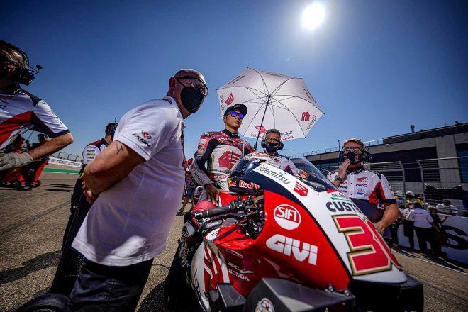 中上貴晶「最高の結果ではないが、最後まで積極的な走りができた」/MotoGP第13戦アラゴンGP決勝