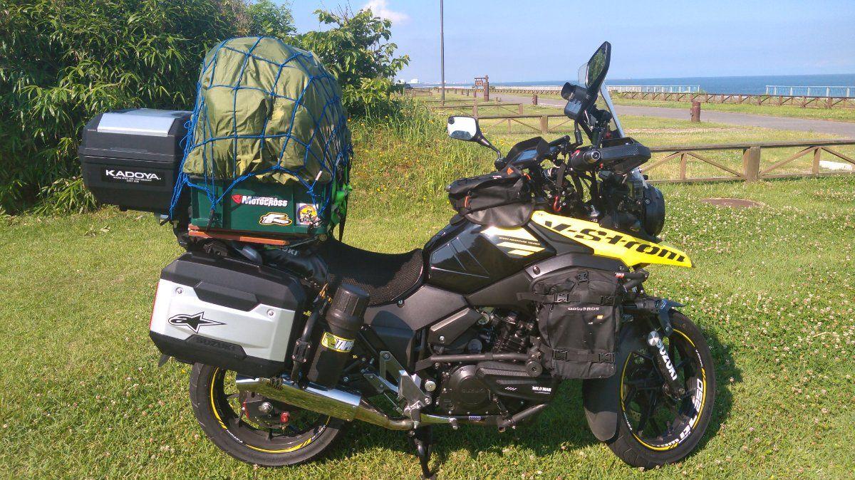 流行りのキャンプツーリングを始めよう! キャンツーに使えるバイク特集!