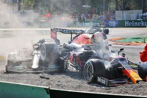 GPDA会長のブルツ、F1イタリアGPでの接触についてハミルトン&フェルスタッペンと話し合いを予定