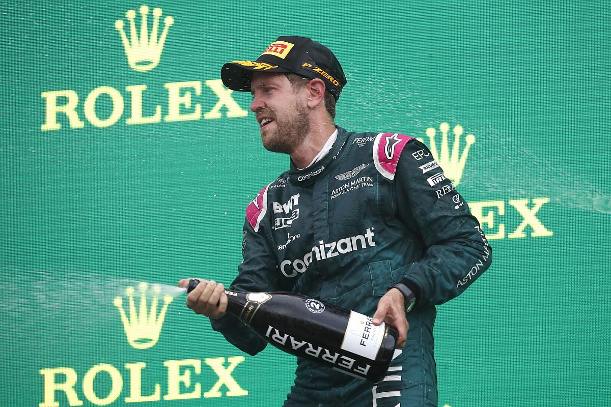 2番手フィニッシュのベッテル、まさかの失格! 規定量の燃料サンプルを採取できず F1ハンガリーGP
