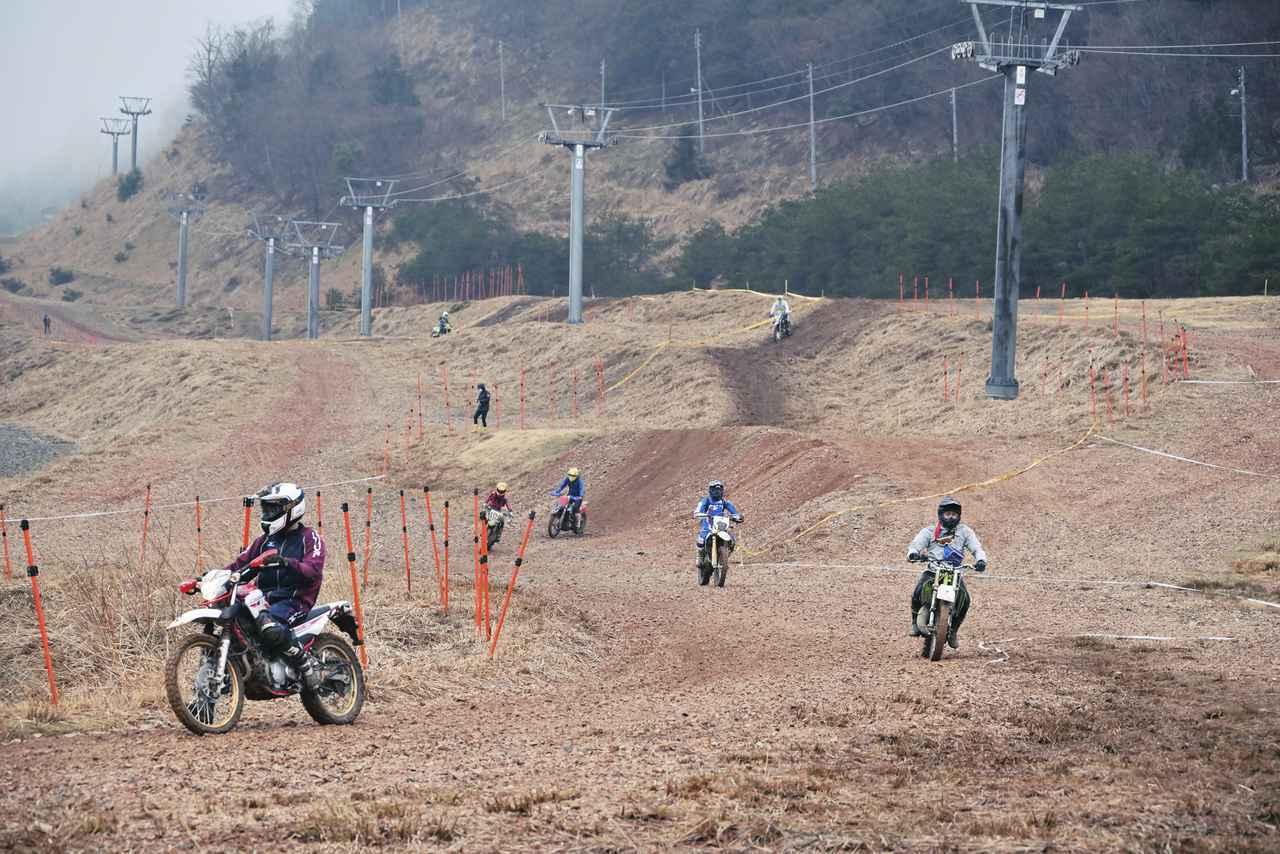 大人気、滋賀県朽木スキー場で第3回ビギナー向け走行イベント