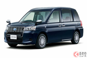 トヨタ「JPNタクシー」車内クリーン&安全安心を強化 100Vコンセントも追加OK!