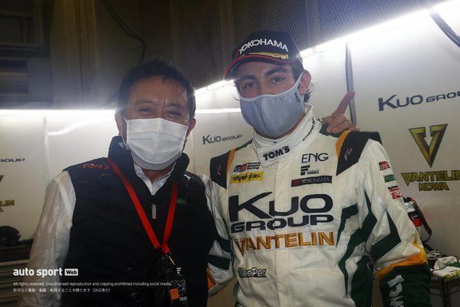 初PP獲得のジュリアーノ・アレジ「日本に来て、良いチームで走れて本当に幸せ」【第3戦予選後会見】