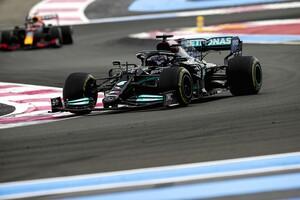 """レッドブルに勝つためには1ストップに""""固執""""するしかなかった……2位敗北のハミルトン「それでも良いレースだった」 F1フランスGP"""