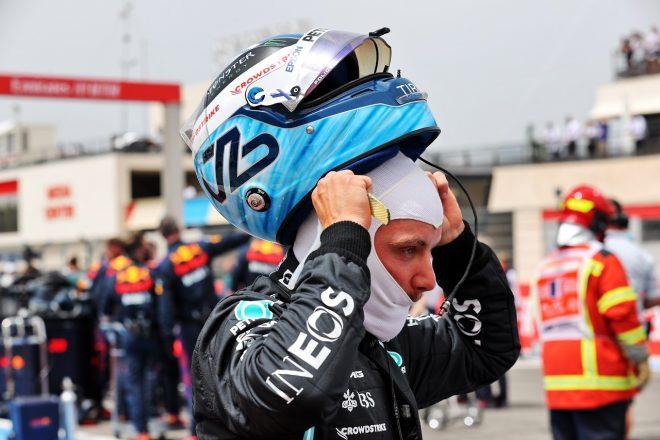 ボッタス、戦略変更に応じないチームに怒り「2ストップで走ったら優勝の可能性があった」メルセデス/F1第7戦