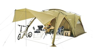 アウトドア総合ブランドのモンベルからゆったりスペースの2ルームテント「ムーンライト キャビン4」が新発売