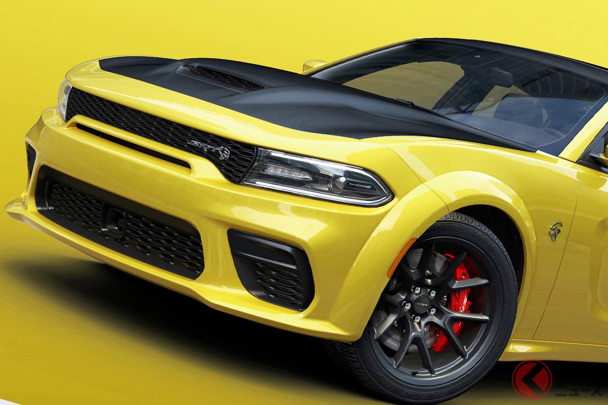 黄金に輝く797馬力のマッスルカー! ダッジ「チャージャーSRTゴールドラッシュ」米で登場