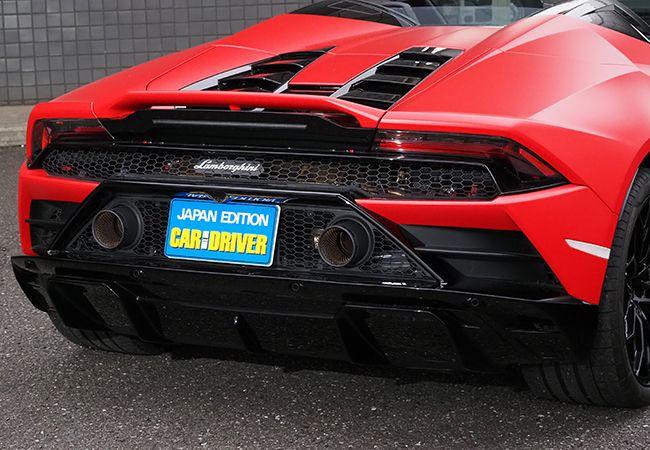 「最新スーパーカー試乗」圧倒的な速さと操る醍醐味を追求。ランボルギーニ・ウラカンEVOスパイダーが提示するドライビングの新領域