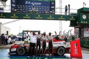 WEC:8号車がル・マン3連覇。トヨタは2019/20シーズンのチームチャンピオンを確定