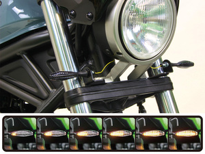 レブル250('17~19)に対応する「シーケンシャルウインカーキット」3モデルがポッシュフェイスから発売!