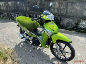 リアルに「草生える」カスタムバイクとはこのこと! バイク大好き造園会社代表が趣味と実益を兼ね製作