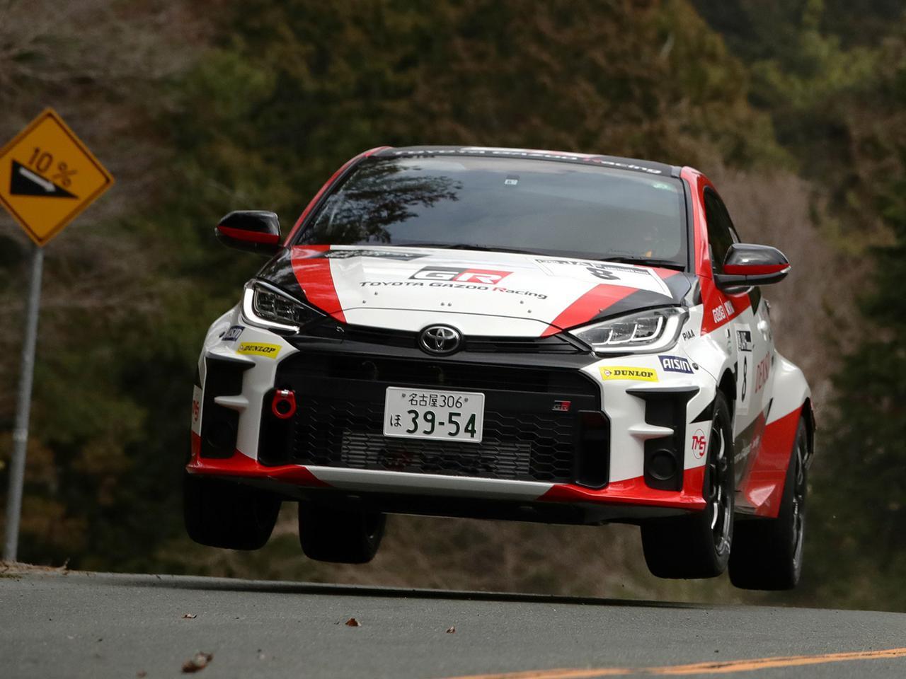 トヨタ GRヤリスGR4ラリーが全日本ラリーで実戦デビューも、エンジントラブルに泣く【モータースポーツ】