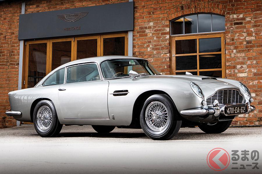 ショーン・コネリーが「007」シリーズで愛したボンドカー「DB5」とは?