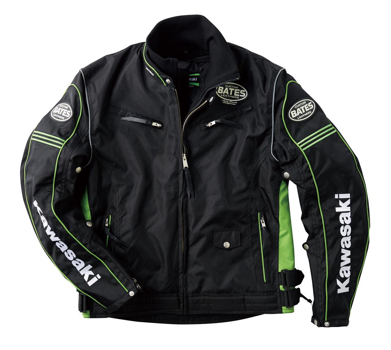 【Kawasaki×BATES】カワサキ乗り必見! 人気のベイツとコラボした秋冬ライディングジャケットの新作