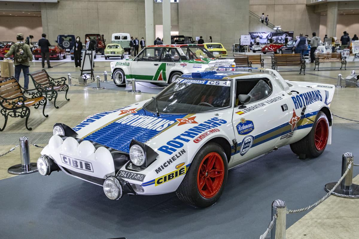 「ストラトス」「131アバルト」「037ラリー」! イタリア往年の名門ラリーカーに昂ぶるオートモービルカウンシル2021