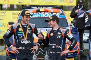 最終SS直前、ヌービル車にトラブル「最後まで走り切れてほっとした」/WRC第11戦スペイン デイ3後コメント