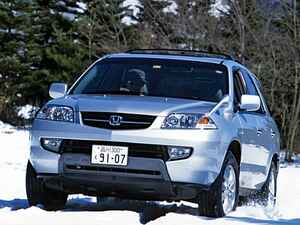 【懐かしの国産車 42】ホンダ MDXは走りも車両価格もプレミアムなSUVだった