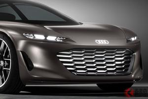 ハンドルはどこ!? 未来の最上級EV アウディ「グランドスフィア」コンセプト世界初公開
