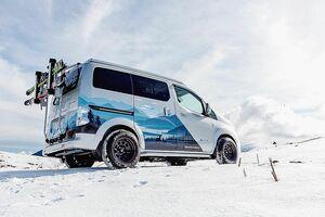 日産、欧州でe-NV200のコンセプトカー「ウィンターキャンパーコンセプト」公開