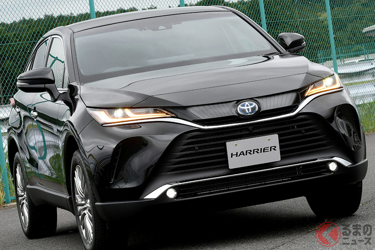 なぜ低価格SUV並みに人気? トヨタ高級SUV「ハリアー」納期9.5か月も コロナ禍で高級車販売に影響か
