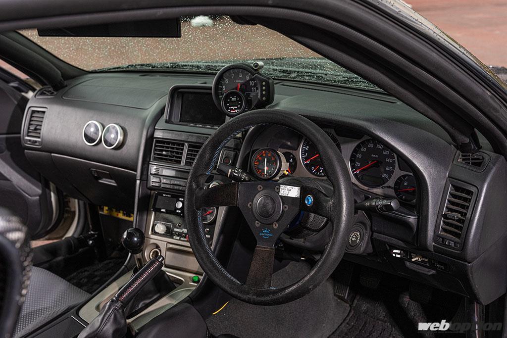 「第二世代GT-Rを3台所有!?」生粋のGT-Rマニアが作り上げたBNR34直線番長スペシャル!