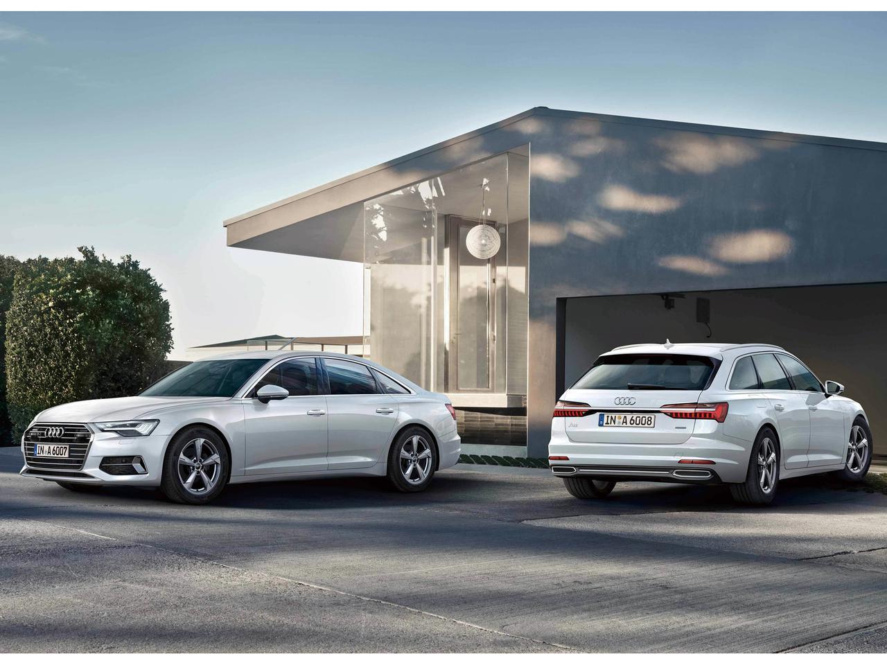 アウディ A6セダンとアバントの車両価格と装備を一部変更。Sラインパッケージの値下げも実現