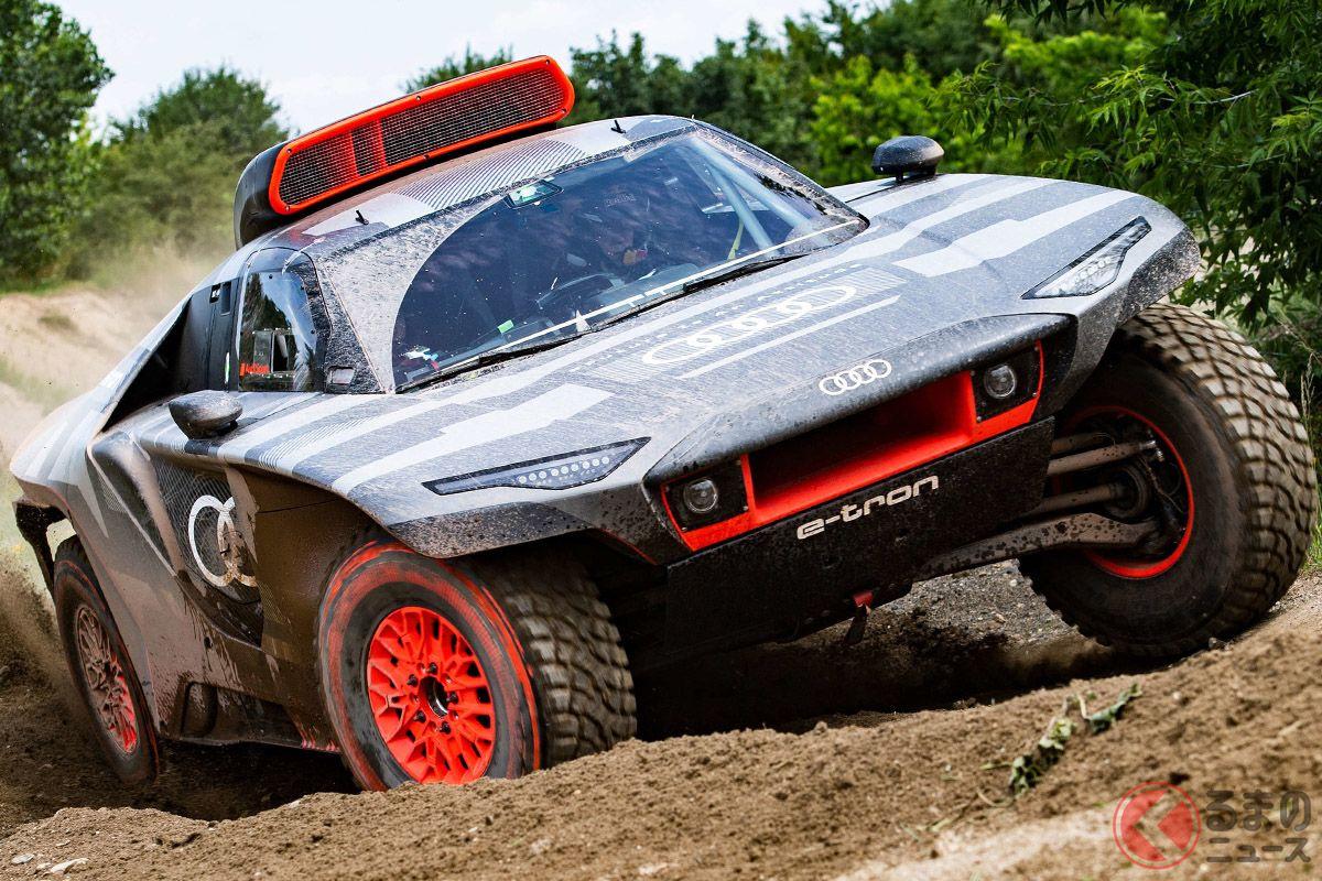 アウディが電動車でダカールラリー参戦! 新型「RS Q e-tron」発表