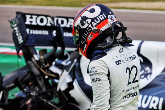 クラッシュの角田裕毅がチームに謝罪「攻めすぎてミス、大きなチャンスを失った。決勝で挽回する」/F1第2戦予選