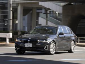 【試乗】BMW 5シリーズ ツーリング 523d│快適性が絶妙に走りを引き立てる、バランスの取れた万能ステーションワゴン!