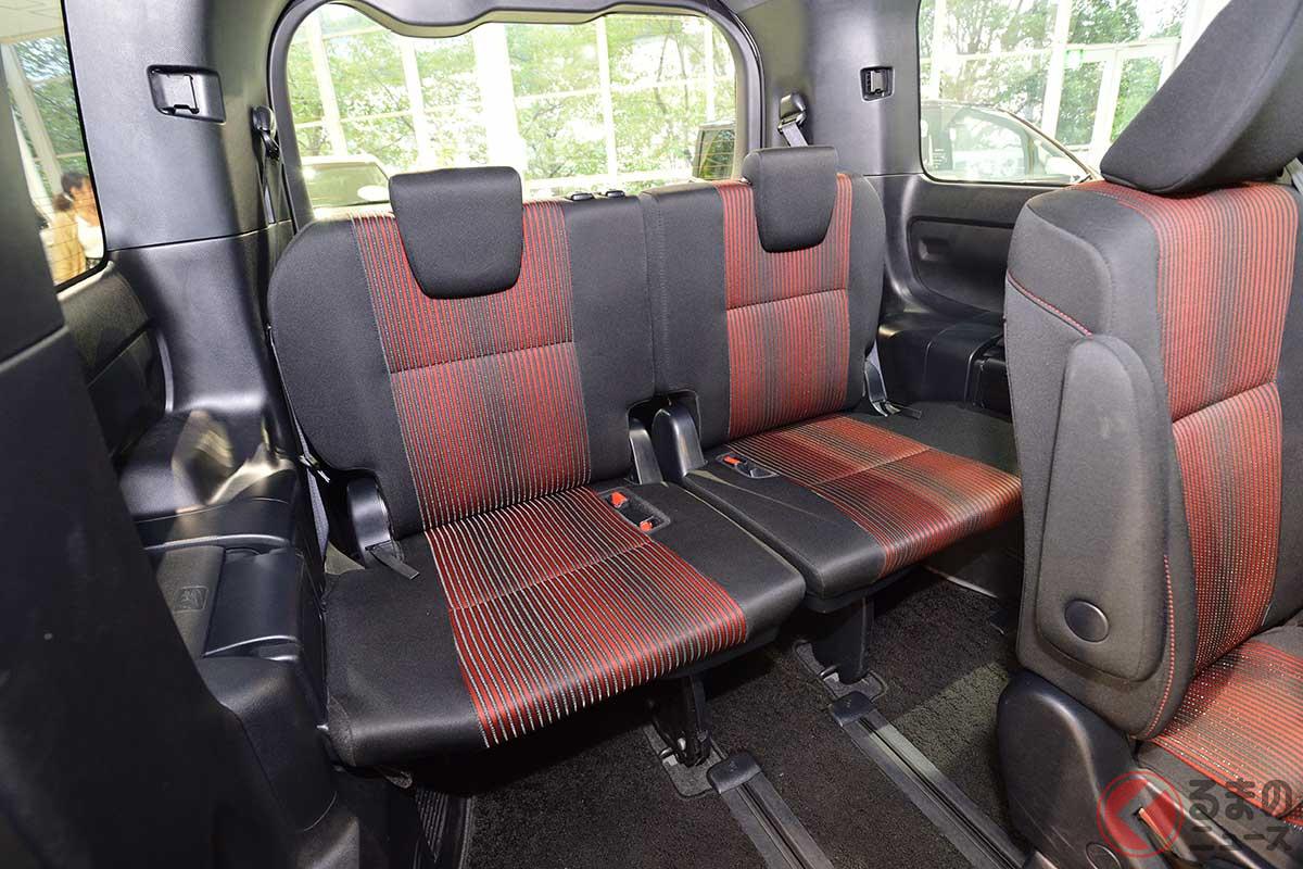 クルマのシートアレンジ必要? 姿消した回転座席 背もたれ可倒式だけではもの足りない?