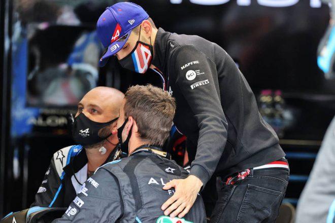 オコン「ミックとアントニオに挟まれ、どうすることもできなかった」:アルピーヌ F1第9戦決勝