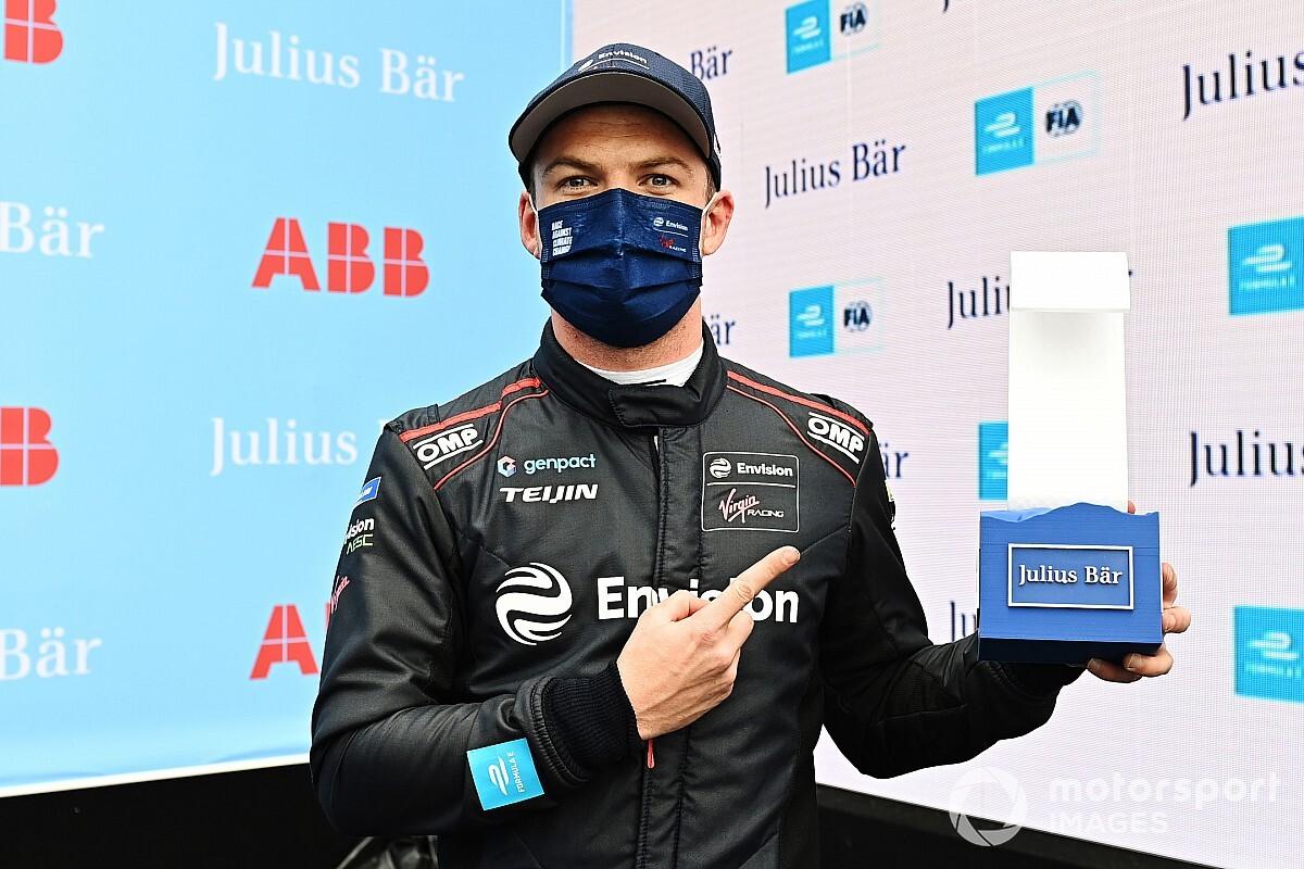 【フォーミュラE】ニック・キャシディ、初ポールポジションを喜ぶ「肩から重荷を下ろせた!」|第4戦ローマePrix予選