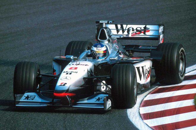 マクラーレンMP4-13が20年ぶりに鈴鹿へ。F1日本GPでハッキネンがドライブ