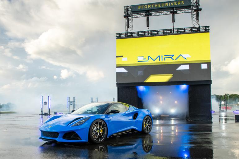 ついに登場!ロータスの新型ミッドシップスポーツカー「エミーラ」