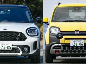 MINIクロスオーバーとパンダクロス4×4の超個性派SUV。この2モデルの遊びは真面目で本気だ