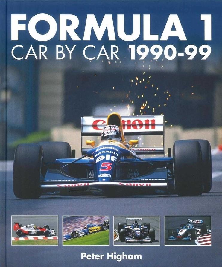 Formula 1 Car By Car 1990-99【新書紹介】