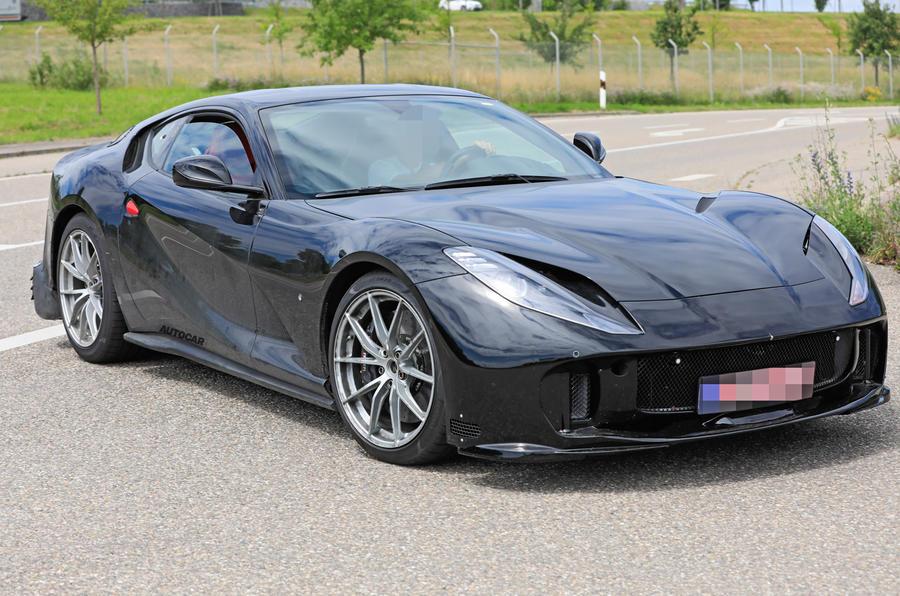 【最後のV12搭載GT?】フェラーリ812 GTO、年内発表か コンバーチブルも計画