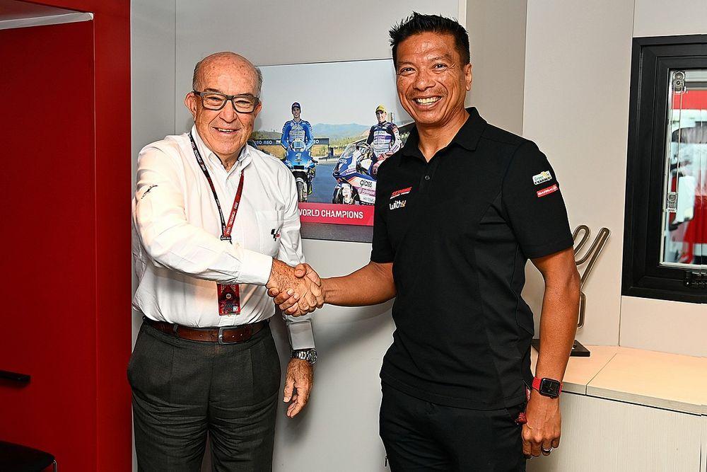 【MotoGP】活動終了のSRT、後継チームの『RNFレーシング』が2026年までMotoGPクラスへ参戦