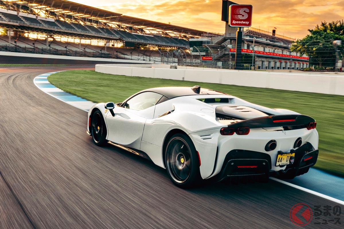 フェラーリが量販車最速に! 「SF90ストラダーレ」の速さをインディアナポリスで証明