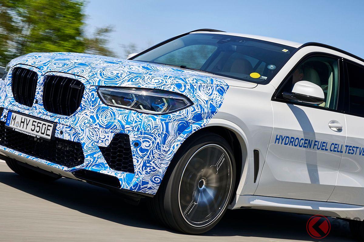 トヨタの燃料電池搭載! 374馬力のBMW新型FCVが走行テスト開始 発売は2022年?