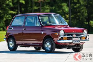 米国で国産旧車が熱い!! ホンダ「N360」の輸出仕様は360万円で落札!
