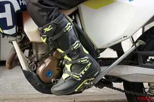 履きやすくてプロテクション性能も高いオフロードブーツ「TCX X-ヘリウムミシュラン」