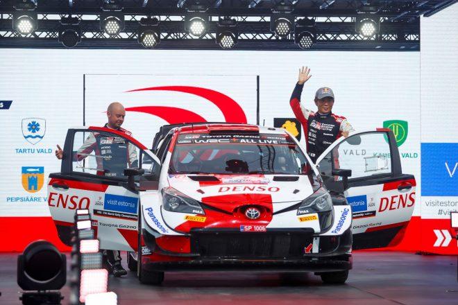 勝田貴元、総合3番手走行も相棒の身を案じリタイアを選択「ダンが無事でほっとした」/WRC第7戦