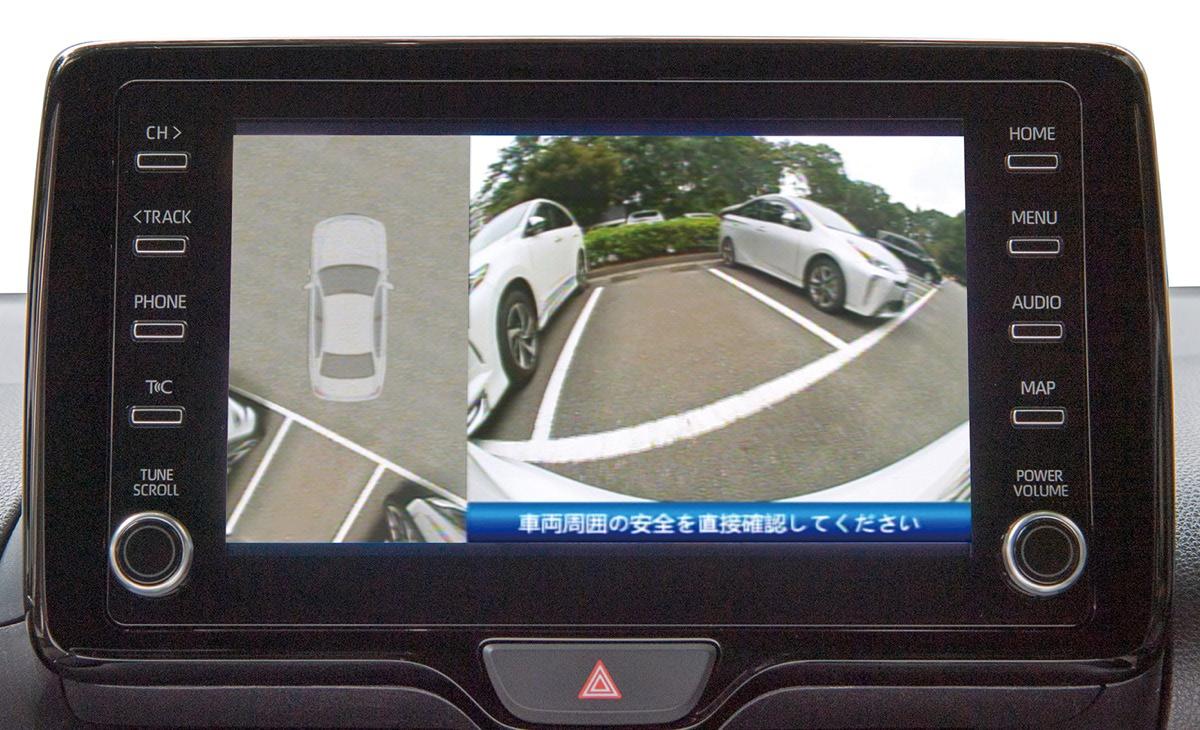1カメラで真上からの映像を生成!駐車枠にバシッと止められる「1カメラスカイトップビュー SKY812」が5月中旬発売決定
