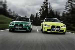 BMW、新型のM3セダンとM4クーペを同時公開! 日本への上陸は2021年春を予定